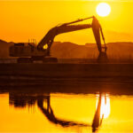 Calculating the carbon footprint of construction equipment