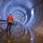 Construction begins on the world's longest immersed tunnel